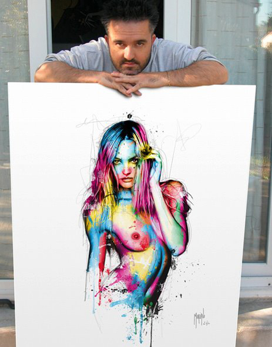 Photo of Les peintures colorées de l'artiste Patrice Murciano