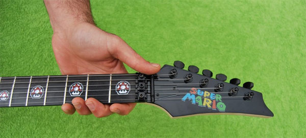 Photo of Une guitare Mario ? Mario Guitar