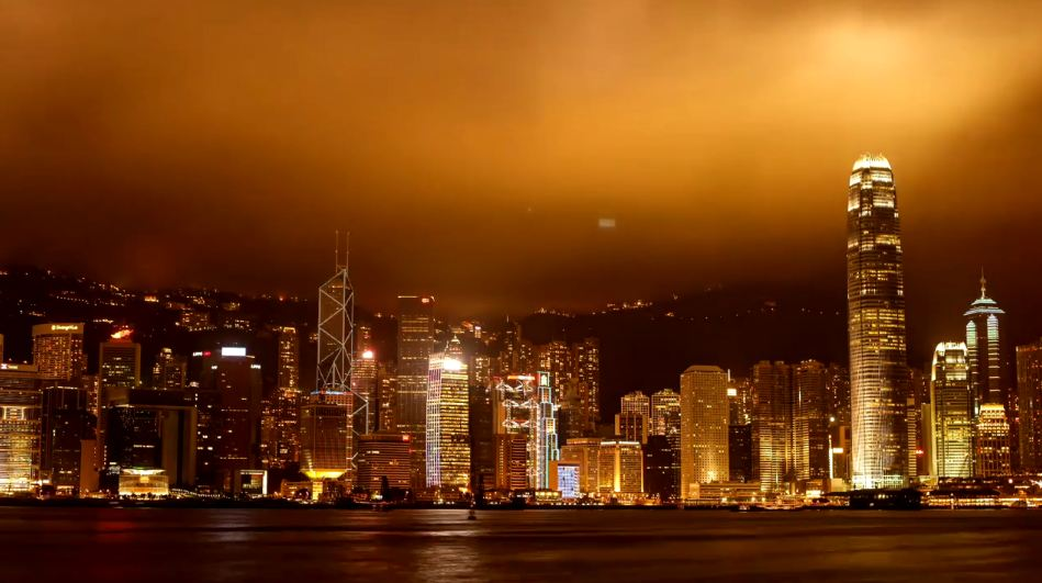 Photo of Time lapse de la région d'Hong Kong