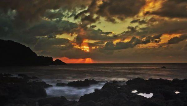 Time lapse de l'île de Ténérife