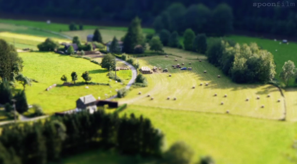 Time lapse de la ville belge de Rochehaut