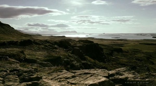 time lapse islande