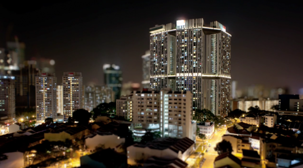 Time lapse de Singapour - The Lion City