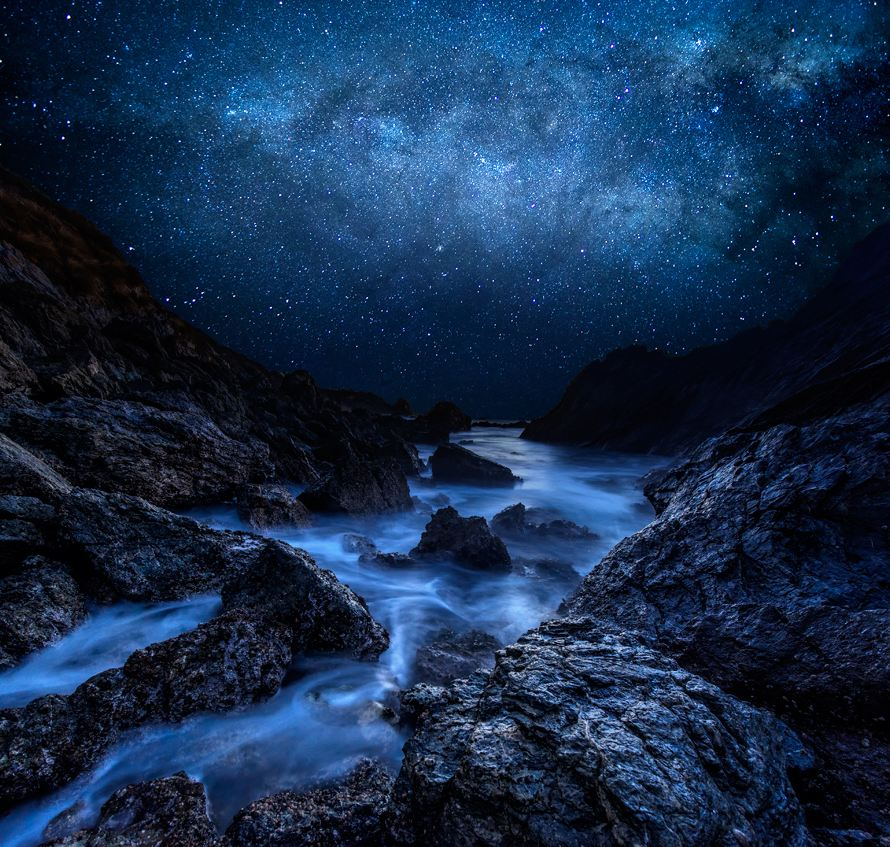 Photo of Photographie du jour #231 : Cyan Starry Night