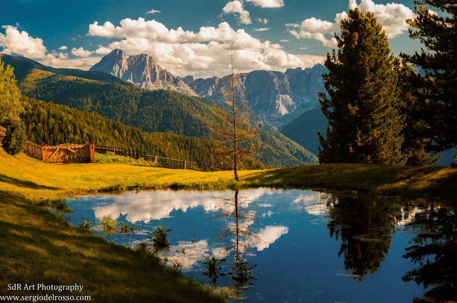 Sud Tirol landscape