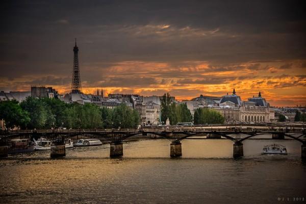 Photographie du jour #223 : Sunset in Paris