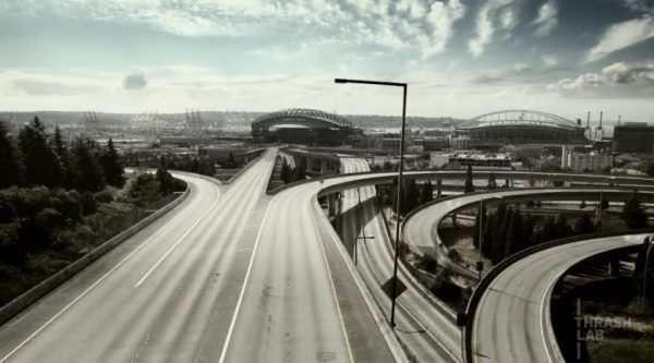 Time lapse de Seattle - Empty America