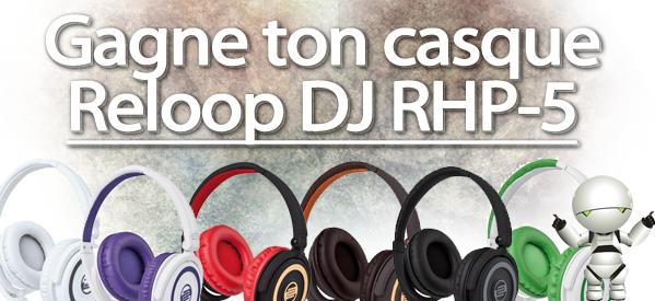 Concours : gagne ton casque Reloop DJ grâce à Electronic Star