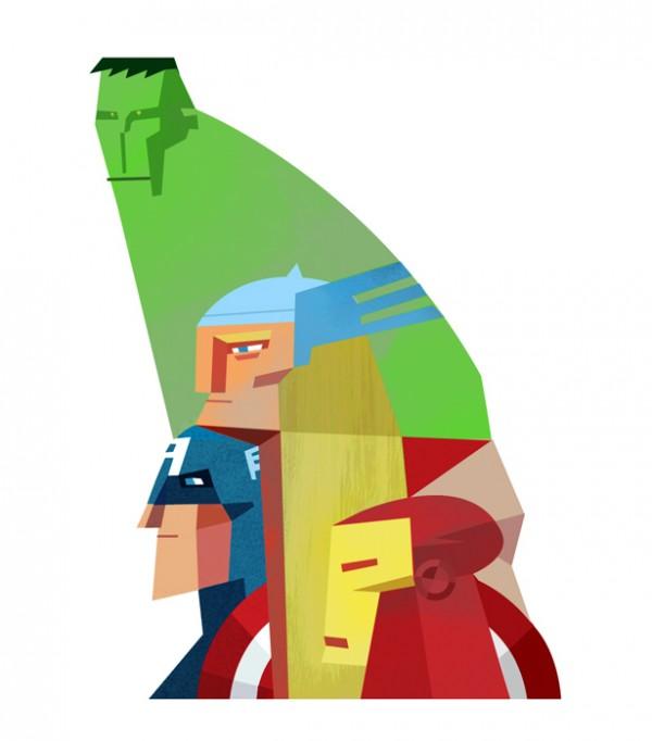 illustrations-super-heros-Robert-M.Ball (1)