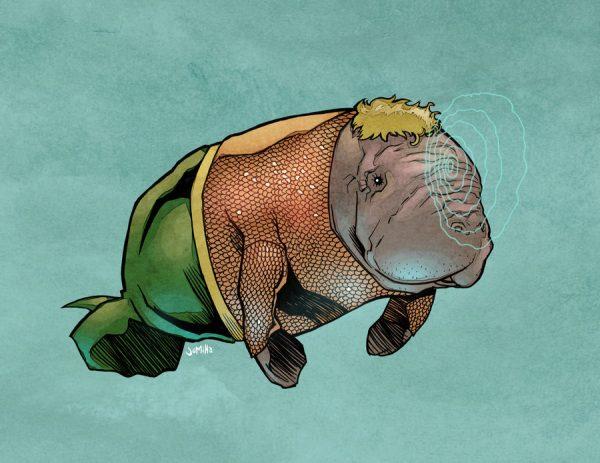 illustrations-super-heros-version-lamantins-Joel-Micah-Harris (10)