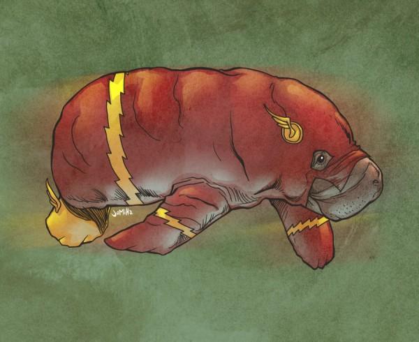 illustrations-super-heros-version-lamantins-Joel-Micah-Harris (14)