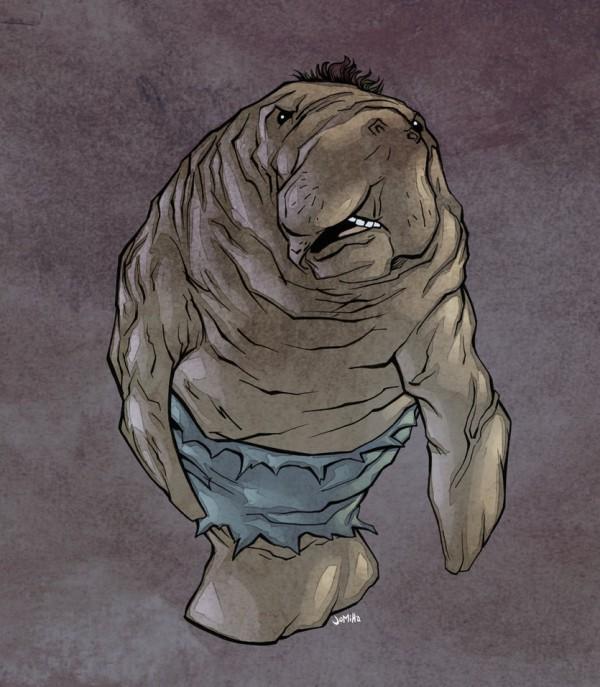 illustrations-super-heros-version-lamantins-Joel-Micah-Harris (2)