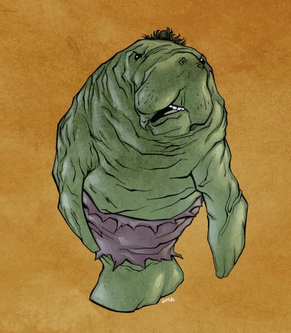 illustrations-super-heros-version-lamantins-Joel-Micah-Harris (3)