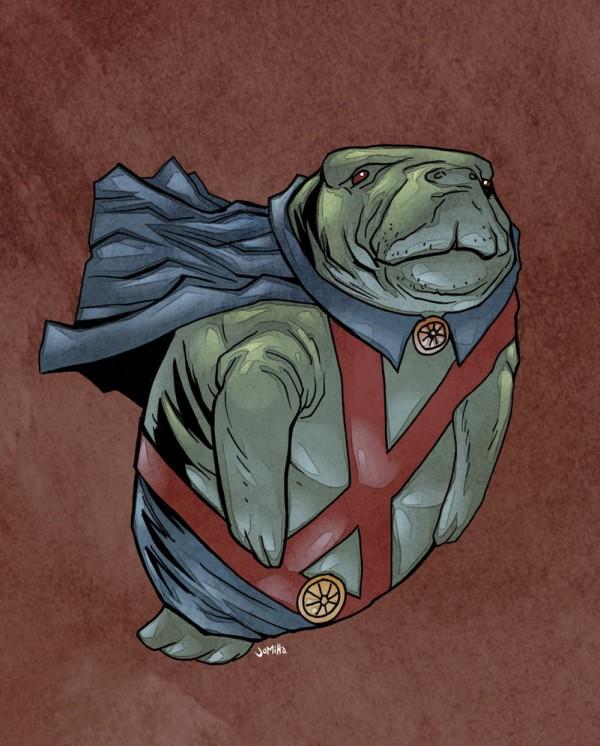 illustrations-super-heros-version-lamantins-Joel-Micah-Harris (5)