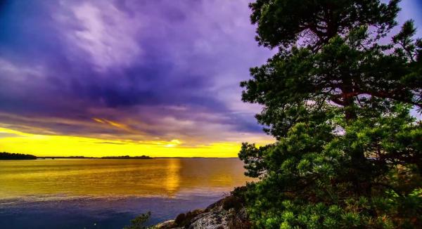 Time lapse de Guernesey - Lettonie - Suède & Autriche