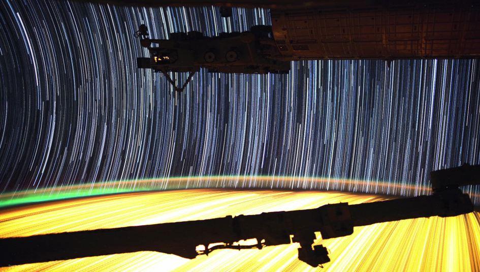 Time lapse de notre planète vu depuis la station IIS