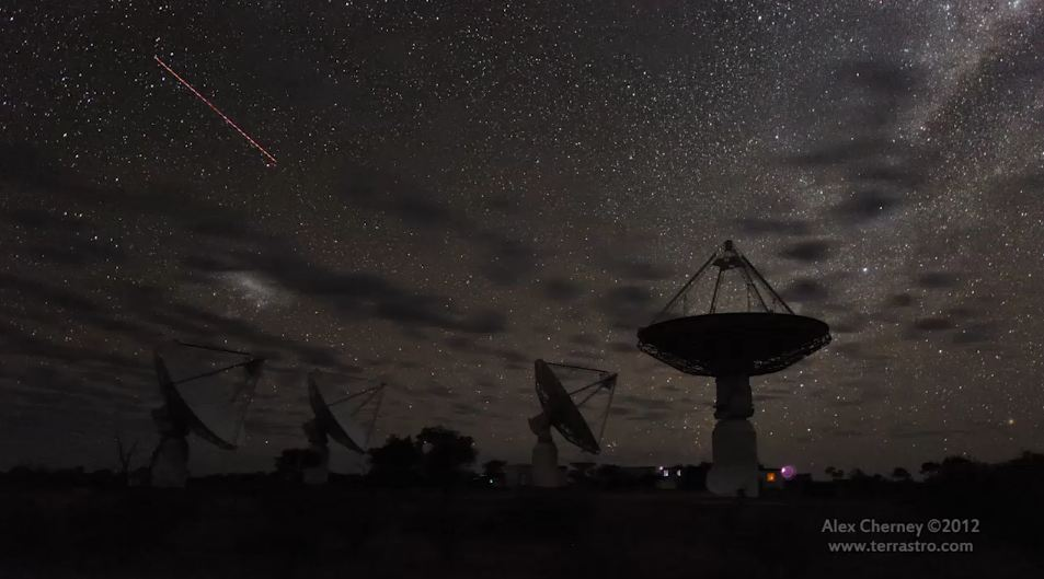 Photo of Time lapse des radiotélescopes d'Australie d'ASKAP