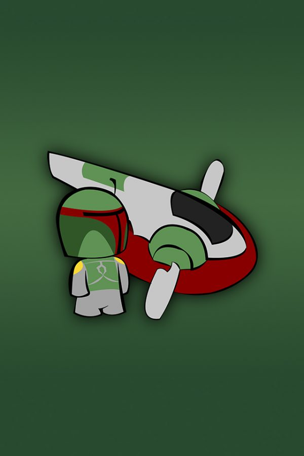 Boba Fett par Fett Up