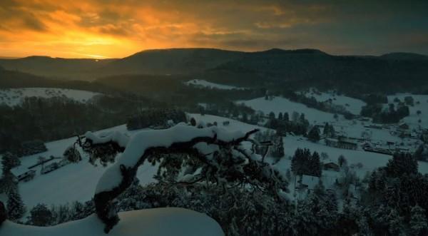 Time lapse de l'Alsace