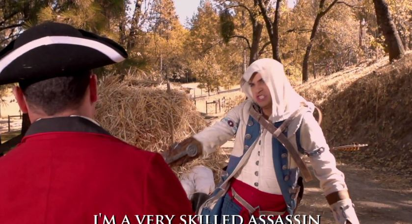 La clip humoristique ultime d'Assassin's Creed 3