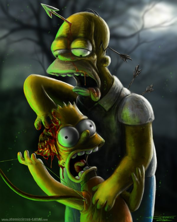 homer_and_bart_simpson_by_atomiccircus