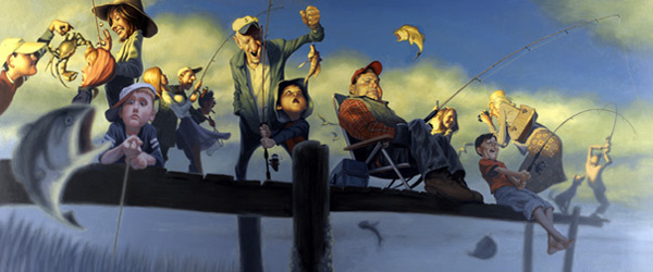 Photo of Les illustrations marrantes de l'artiste James Bennett