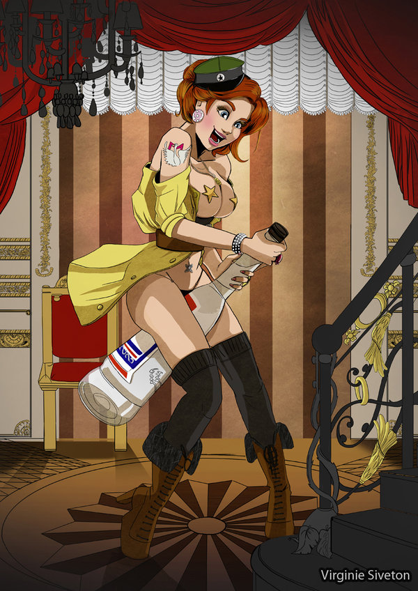 Photo of Les illustrations de Pin-Up de l'artiste Virginie Siveton