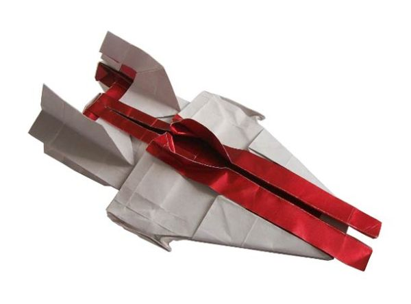 Photo of Star Wars Origami par l'artiste Martin Hunt – Starwarigami
