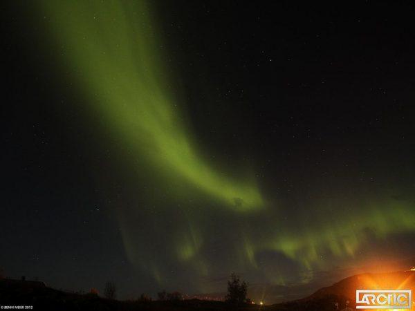 time lapse Arctique Aurora