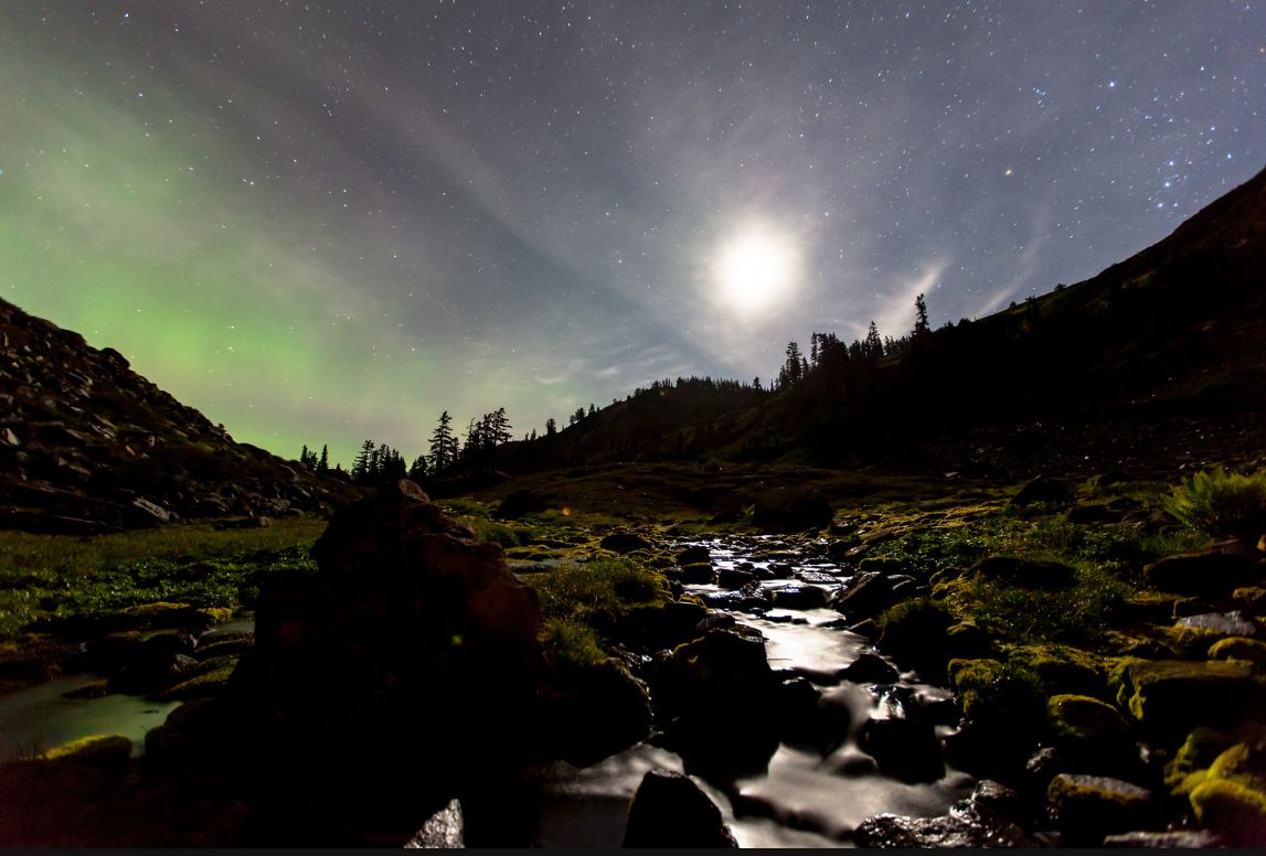Photo of Time lapse de la forêt nationale du Mont Baker-Snoqualmie – Washington