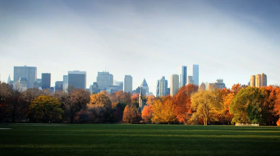 Time lapse de l'Automne sur Central Park - New York