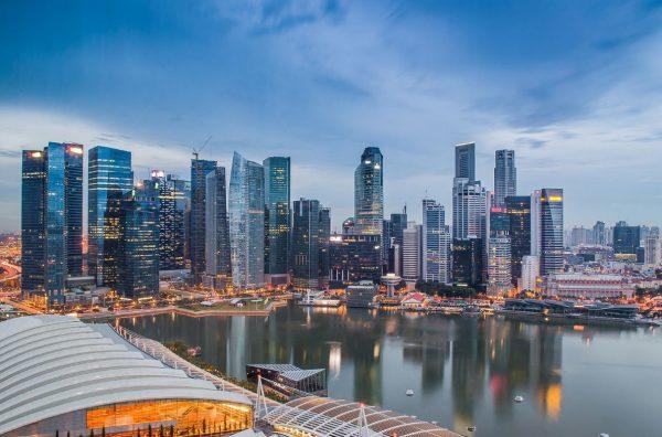 time lapse singapour