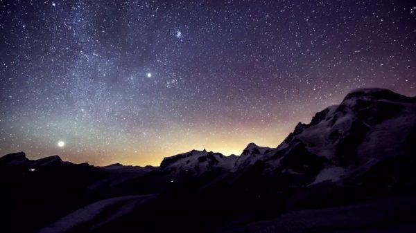 Time lapse de la Suisse - Zermatt