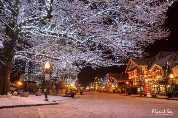 Photographie du jour #263 spécial Noël :  Christmas Town