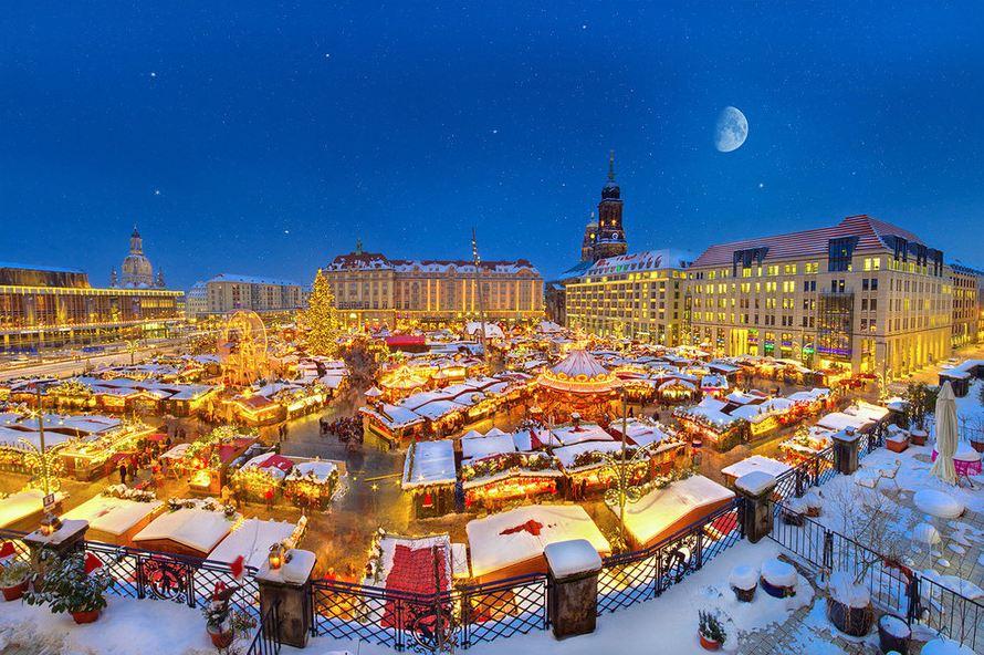 Photographie du jour #262 spécial Noël : Dresden Striezelmarkt