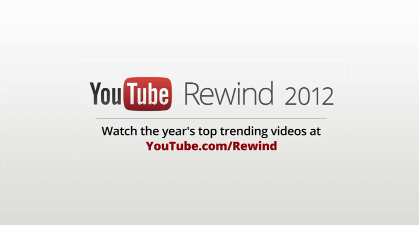 Photo of Rétrospective de l'année 2012 vu par YouTube [Funny]