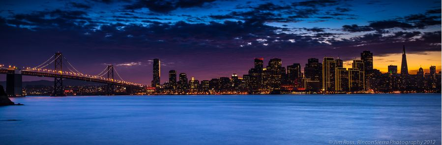Photo of Photographie du jour #257 : San Francisco Sunset Panorama