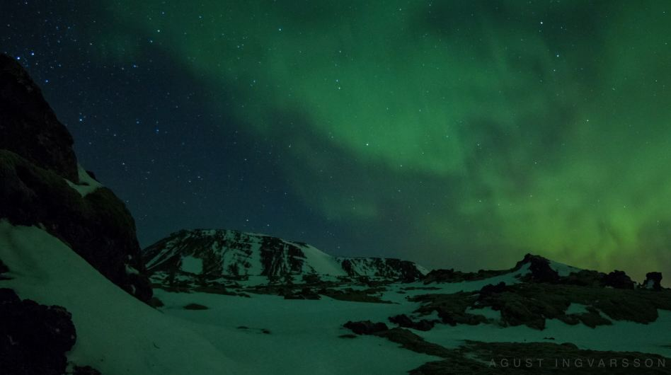 Photo of Time lapse des Aurora Borealis et des Géminides – Bláfjöll