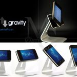 Accessoires iphone 5 : support Anti-Gravity