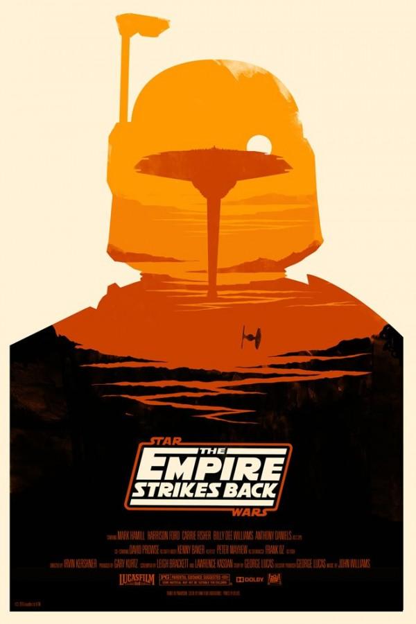 Les affiches minimalistes de la saga Star Wars  par Olly Moss - V