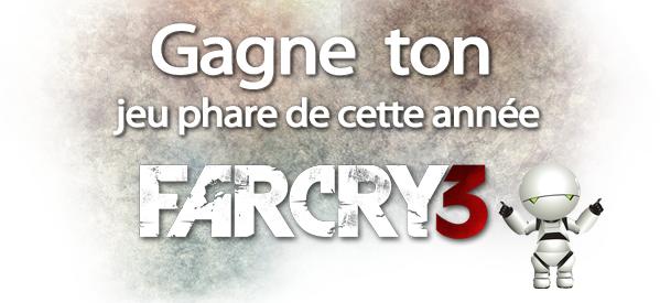 Concours : Viens gagner ton jeu Far Cry 3 grâce à GoCléCD