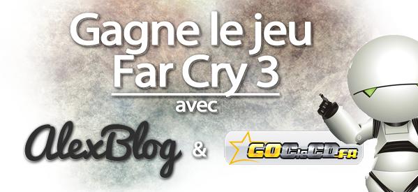 Photo of Concours : Viens gagner ton jeu Far Cry 3 grâce à GoCléCD