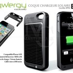 Coque iphone 4 & 4S Batterie chargeur solaire