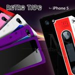 Coque iphone 5 Cassette K7 Retro Tape