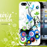 Coque iphone 5 Floral Fairy Garden Design