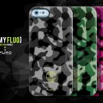 Coque iphone 5 Camouflage Puro Army Fluo
