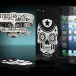 Coque iphone 5 Skull Tête de Mort