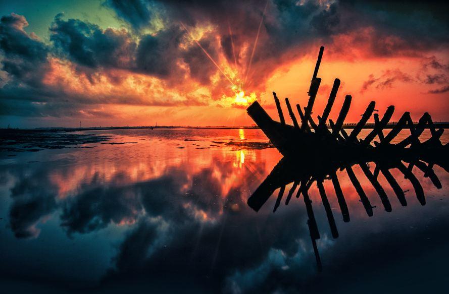 Photographie du jour #259 : Sunrise on beach