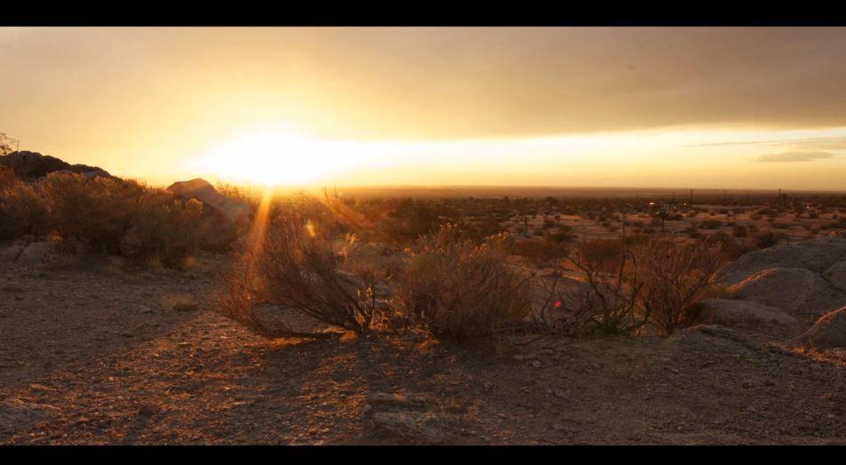 Photo of Time lapse des alentours du desert de Mojave