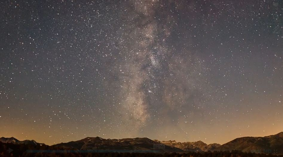 Photo of Time lapse d'une pluie d'étoiles filantes – Perseid Meteor